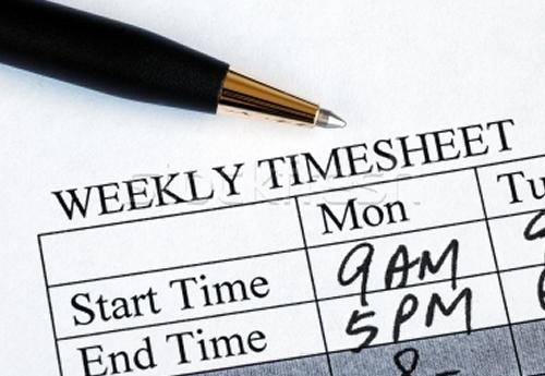 weekly timesheets